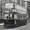 Tram 1849 at Southwark Bridge in 1950