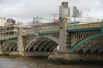 Span 3 as seen from Bankside